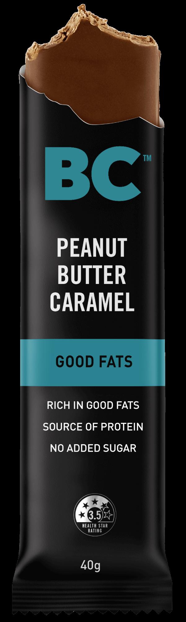 Peanut Butter Caramel Good Fats Bar 40g